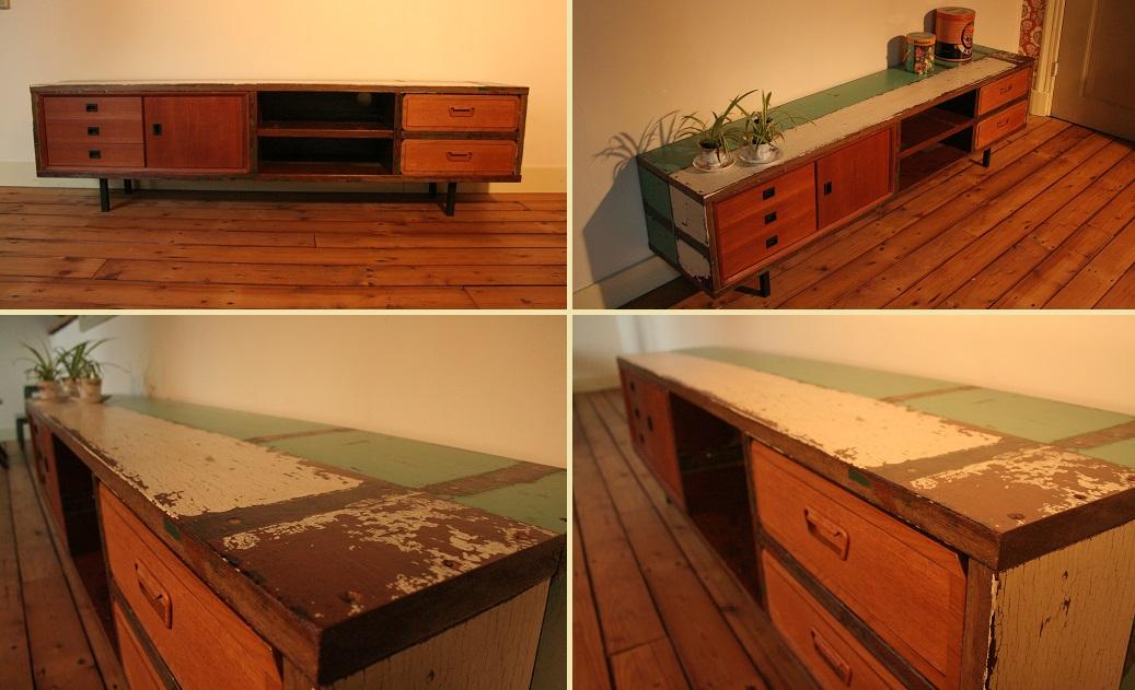 Buitenoosten dressoir sloophout 530 verkocht for Sloophout meubels