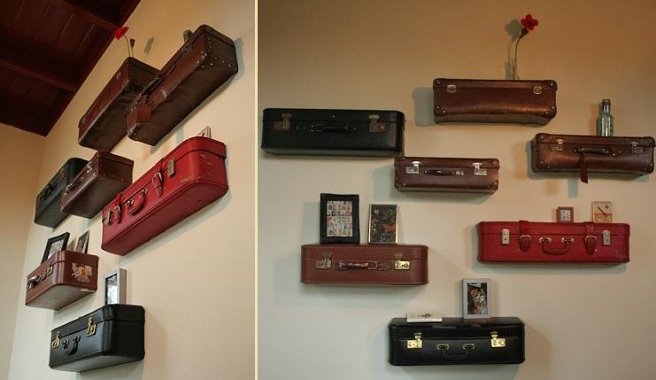 Schapjes Voor Aan De Muur.Buitenoosten Halve Vintage Koffers Prijzen Varieren