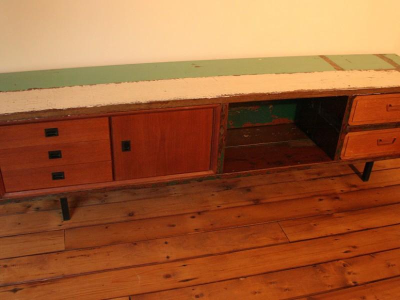 Dressoir sloophout, € 530,-, verkocht