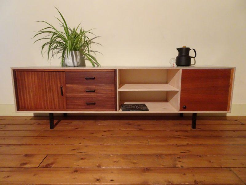 Vintage dressoir / TV meubel, verkocht